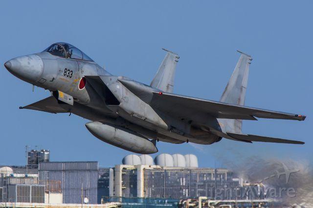 McDonnell Douglas F-15 Eagle (42-8833) - Hamamatsu Air Base.
