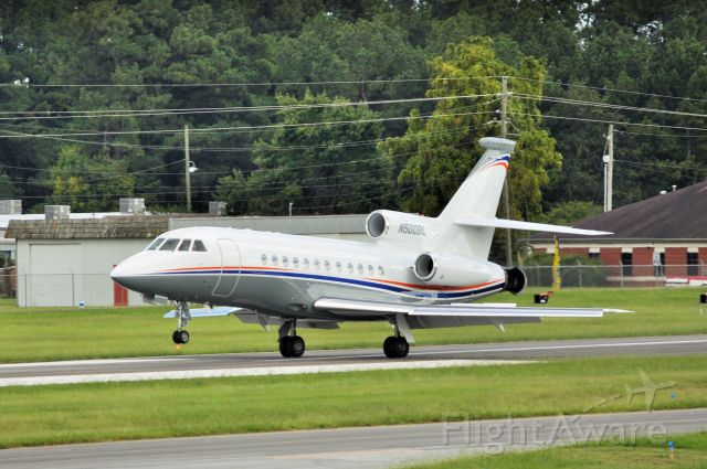 Dassault Falcon 900 (N500BL) - This is a falcon 900EX landing at kasg