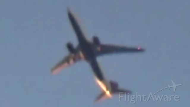 Boeing 737-800 (N374DA) - 20,000 ft above me to Atlanta.