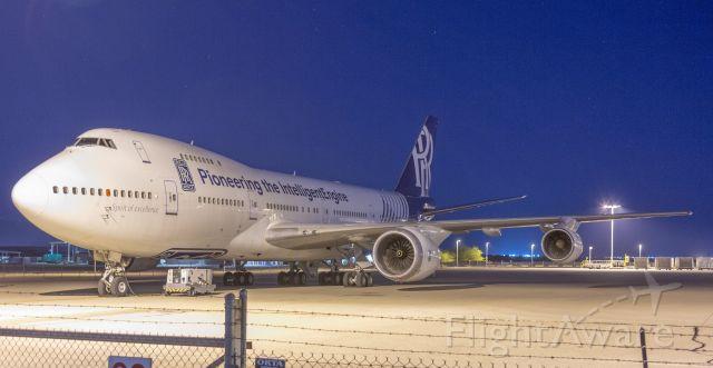 Boeing 747-200 (N787RR) - Spotted at KTUS on December 18, 2020