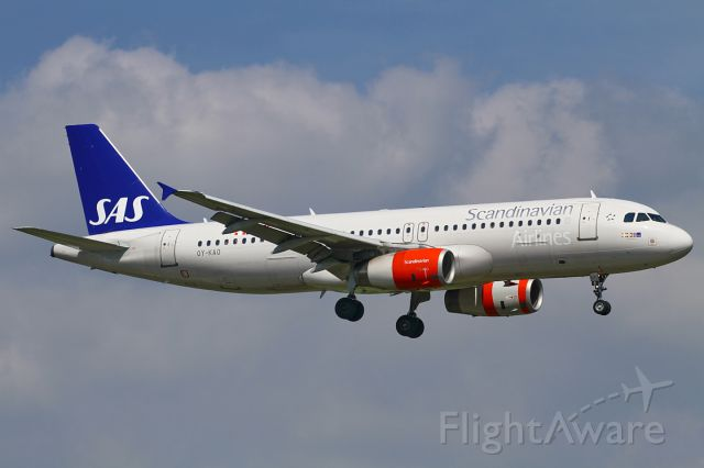 Airbus A320 (OY-KAO)