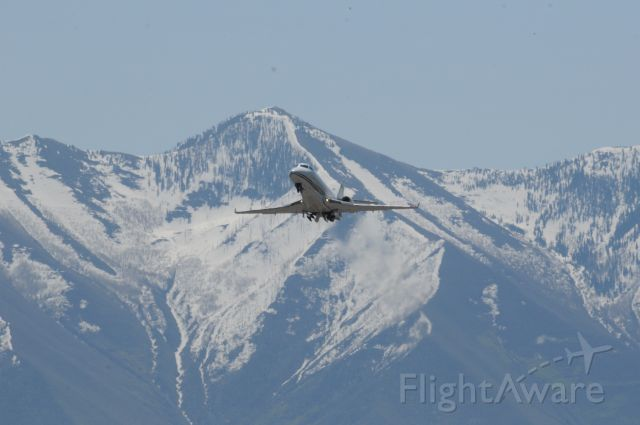 IAI Gulfstream G200 (N196X) - Gulfstream G200 departs Provo from Duncan Aviation. <br />Best viewed in full!