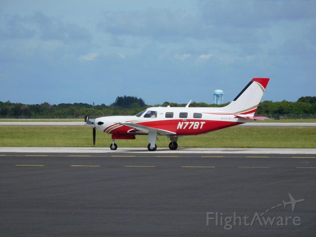 Piper Malibu Mirage (N77BT)