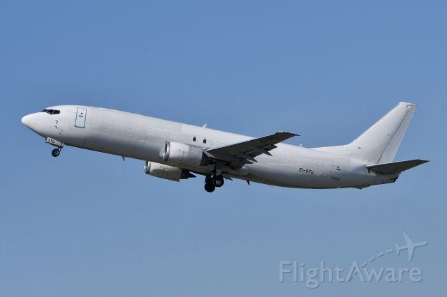 "EI-STU — - EI-STU 734F all white (ASL Airlines) leaving Cologne-Bonn for the milk run ""ABR1443"" to Madrid-Barajas"