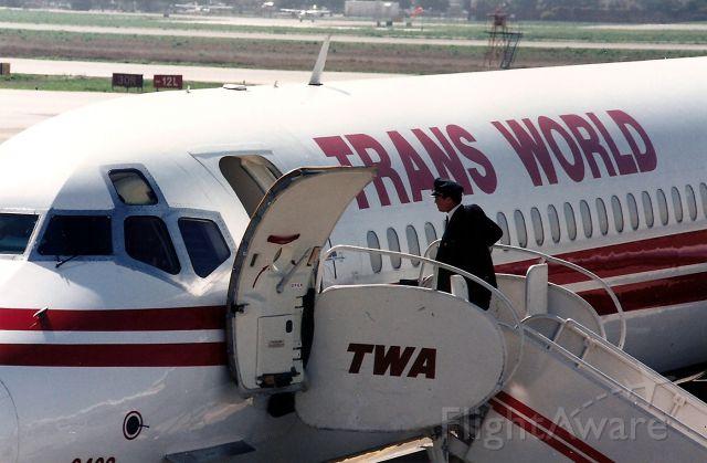 McDonnell Douglas MD-80 (N9402W) - KSJC- Waaaaaaaaaaaaa   I want TWA back!