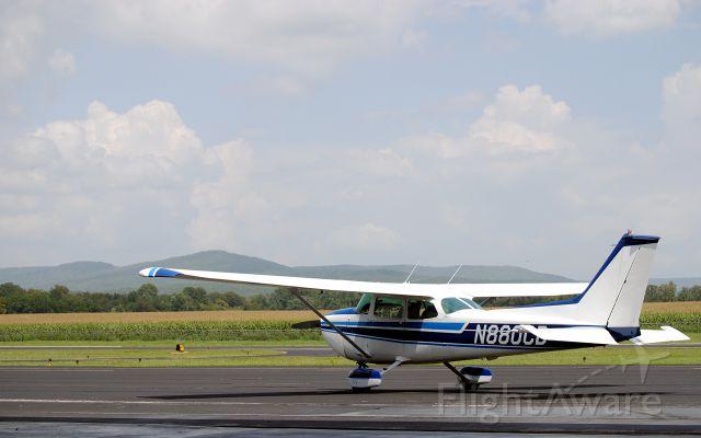 Cessna Skyhawk (N880CB) - Basking in the afternoon sun...