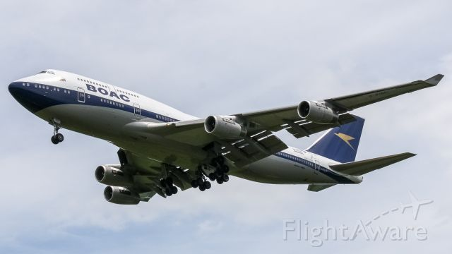 Boeing 747-400 (G-BYGC) - Always a pleasure to see the BOAC Retro Livery