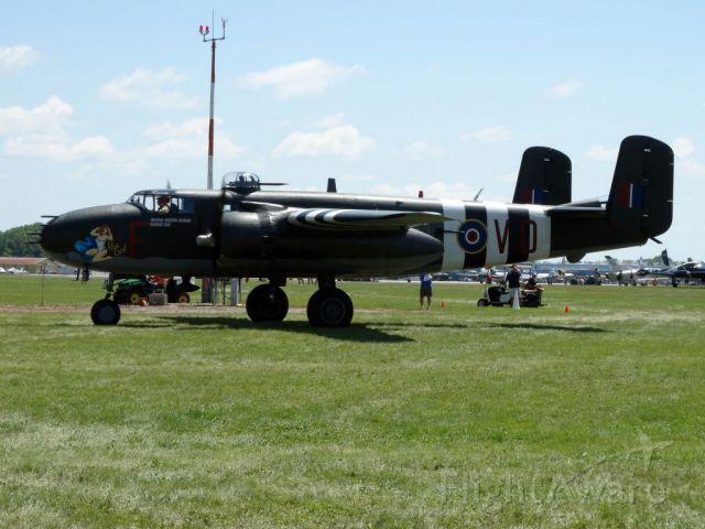 North American TB-25 Mitchell (C-GCWM)
