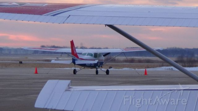 Piper PA-20 Pacer (N99750) - Two CAP Cessnas sitting on the ramp at Ankeny Regional Airport at 7:00 A.M. on the morning of January 23, 2016.