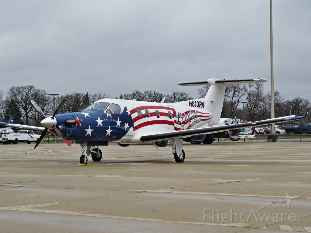 Pilatus PC-12 (N813PA)