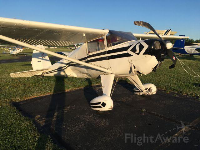 Piper 108 Voyager (N77922) - Hand prop gone bad