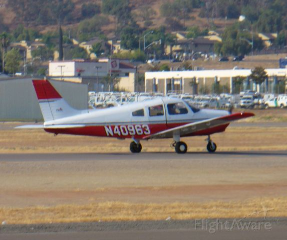 Piper Cherokee (N40963) - Another view of this one.
