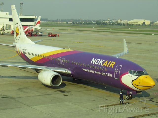 Boeing 737-700 (HS-DBB) - Entre deux avions à Bangkok