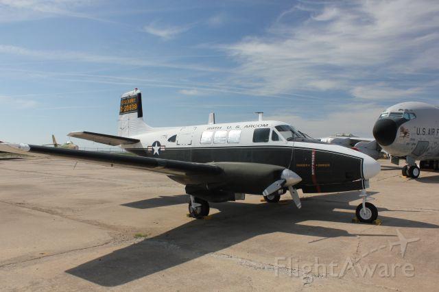 Beechcraft Queen Air (65) (62-3838) - U-8F Seminole at the Kansas Air Museum in Wichita.
