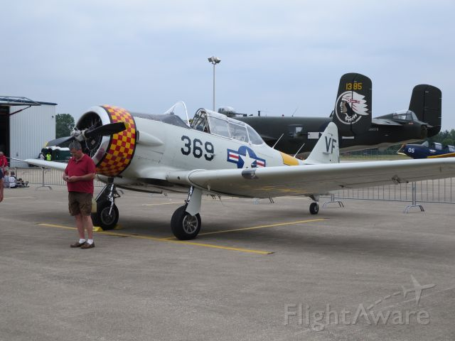 North American T-6 Texan (N7055C)