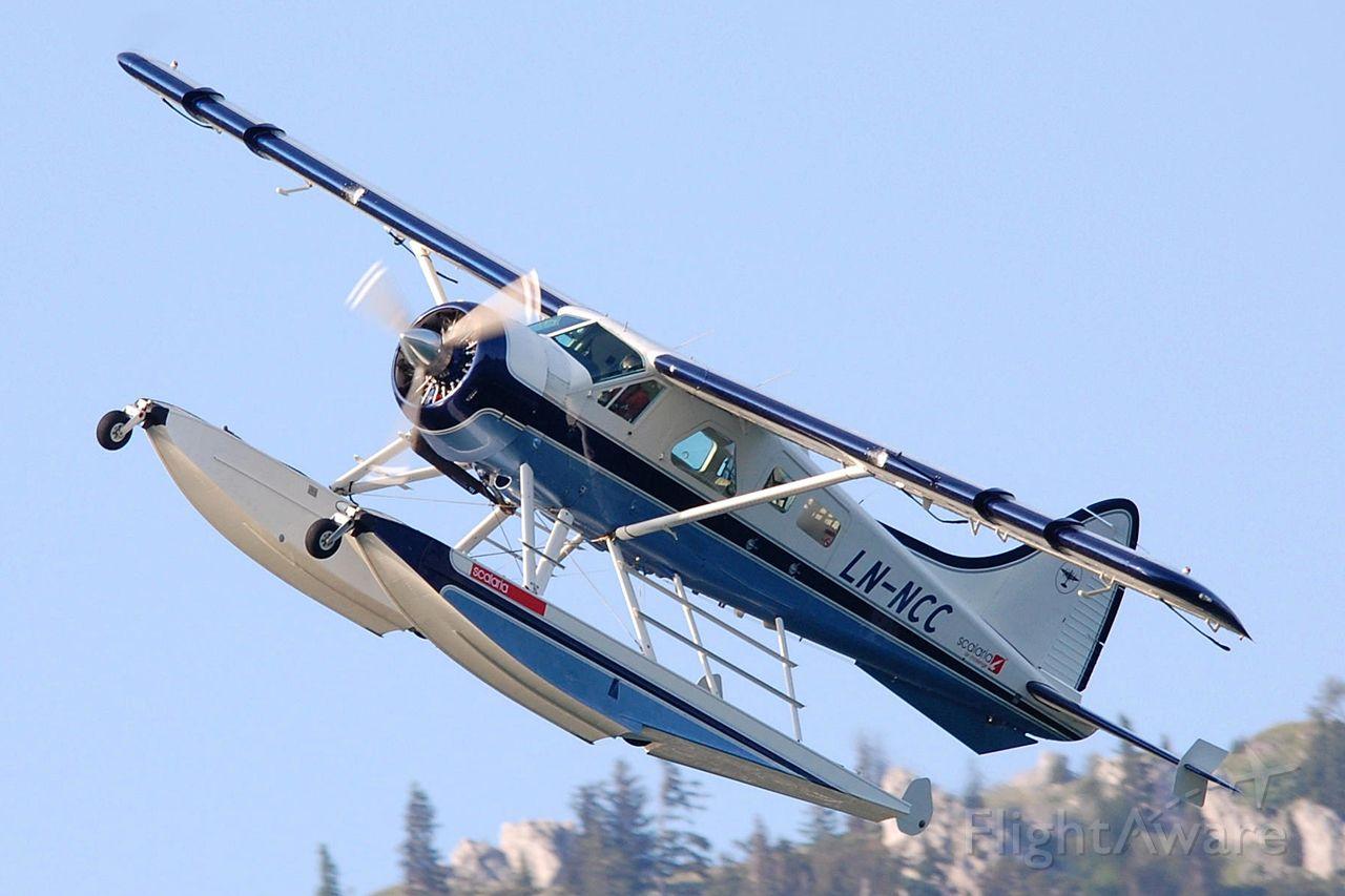 De Havilland Canada DHC-2 Mk1 Beaver (LN-NCC) - Scalaria 2013 Wolfgangsee, Austria
