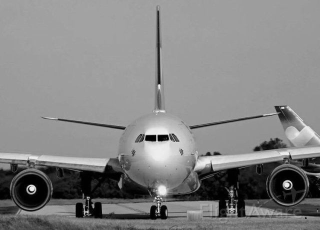 Airbus A330-300 (D-AXGC) - FOTOGRAFÍA TOMADA EN LA ROMANA POR CARLOS SOLIMAN