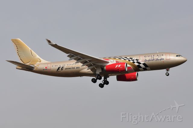 Airbus A330-200 (A9C-KB) - Airbus A330-243 Gulf Air