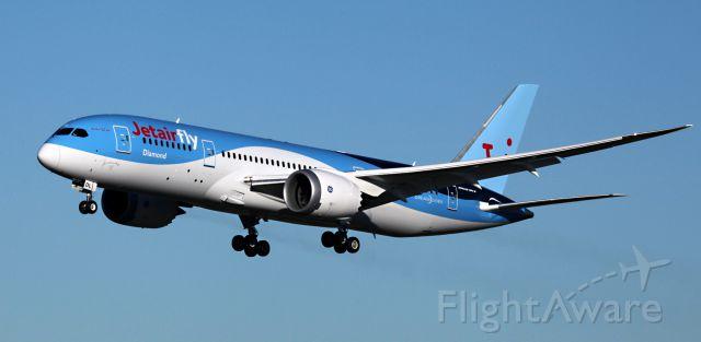 """Boeing 787-8 (OO-JDL) - """"DIAMOND"""""""