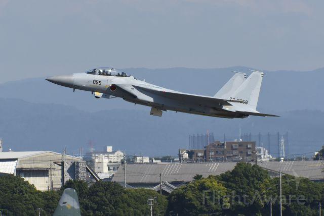 McDonnell Douglas F-15 Eagle (35-8059) - 航空自衛隊 - Japan Air Self-Defense Force McDonnell Douglas F-15DJ Eagle