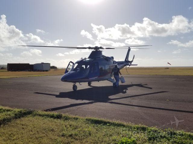 SABCA A-109 (N129AL) - N129AL preparing to depart Port Allen, HI (PHPA) for the Forbidden Isle of Ni'iahu.