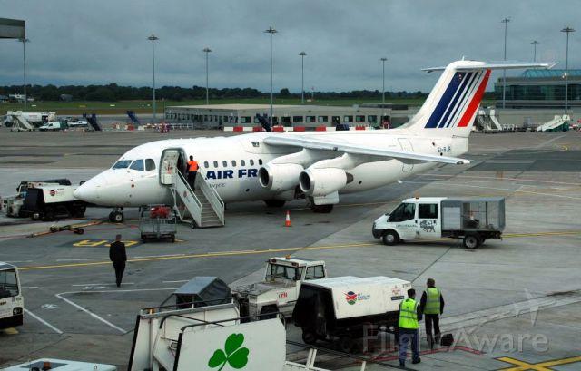 Avro Avroliner (RJ-85) (EI-RJB) - Dublin, 18 juillet 2009. Air France City Jet.
