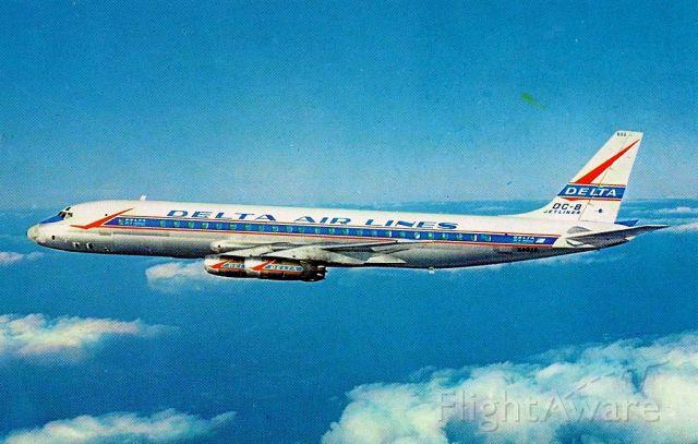 McDonnell Douglas Jet Trader (N802E) - scanned from postcard