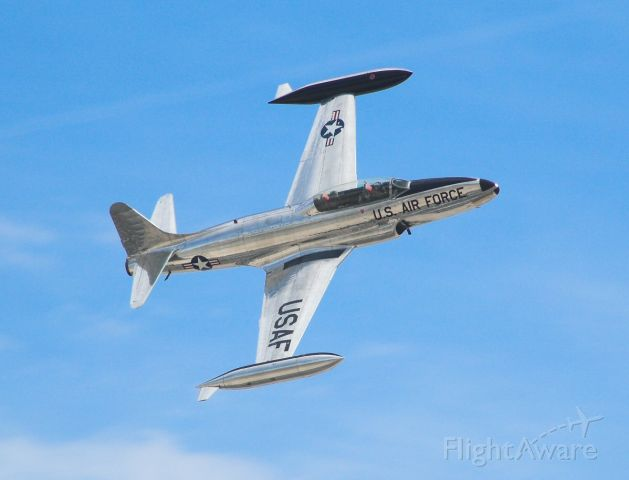 Lockheed T-33 Shooting Star — - Taken at the 2007 Nellis AFB show.