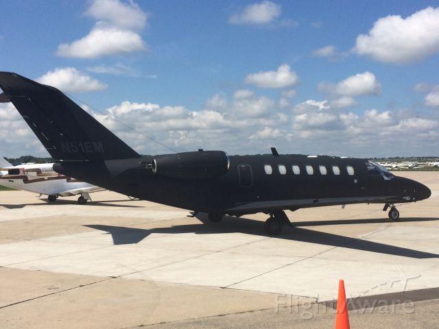 Cessna Citation CJ1 (N51EM) - On Basler ramp at KOSH during Airventure 2015