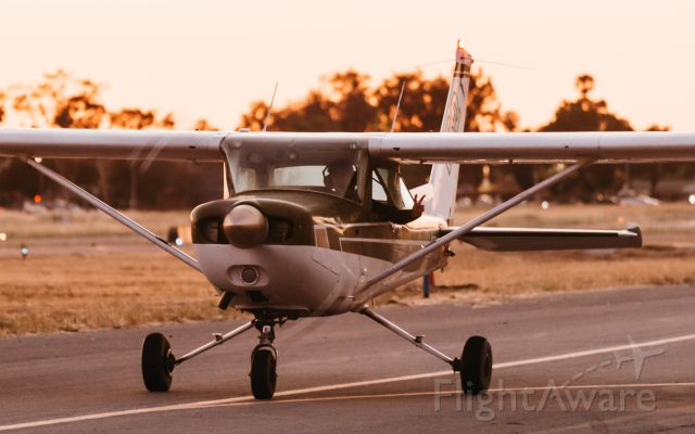 Cessna 152 (N67384) - Photo of my boi, Chris Leipelt, taxiing back during golden hour from a good day of solo pattern work, taken by @planesthetics (instagram).