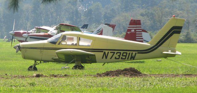 Piper Cherokee (N7391W) - At Sky Manor, NJ