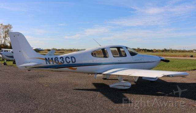 Cirrus SR-20 (N163CD) - TC Aviation at KANE