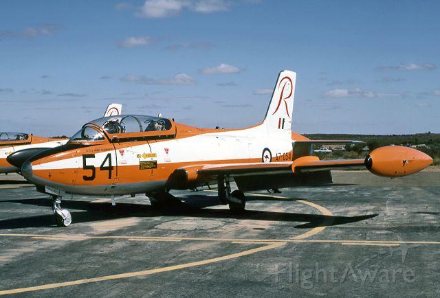 A7054 — - AUSTRALIA - AIR FORCE - COMMONWEALTH CA-30 (MB-326H) - REG : A7-054 (CN CA30-54) - BROKEN HILL AIRPORT NSW, AUSTRALIA - YBHI (24/4/1983)