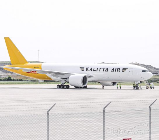 Boeing 777-200 (N772CK) - Kalittas first 777 prepping for another proving run back to Oscoda this past summer.