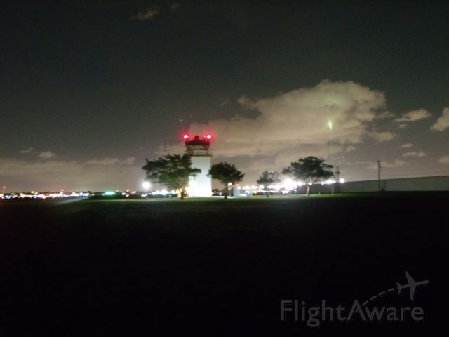 — — - Nighttime... Control tower at North Perry Airport. br /br /[Image © Learn To Pilot .COM™]