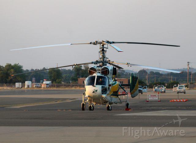 KAMOV Ka-32 (C-FIGR) - KRDD - C-FIGR back on 8-16-2016 for a RON at Redding Muni.click full.