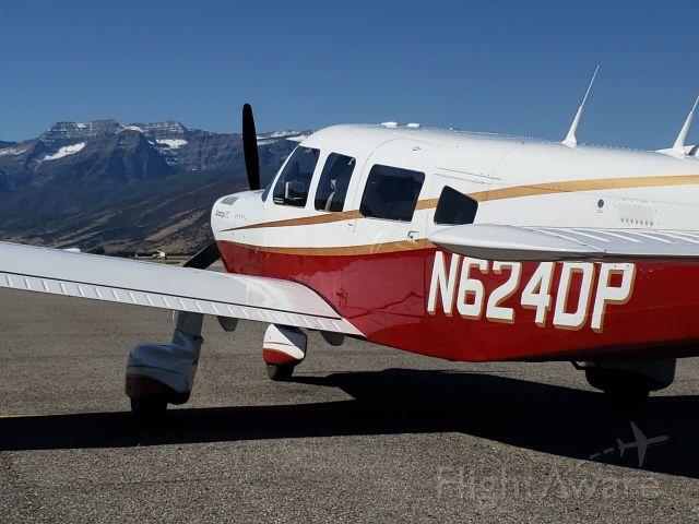 Piper Saratoga (N624DP) - Saratoga N624DP at Heber City, Utah
