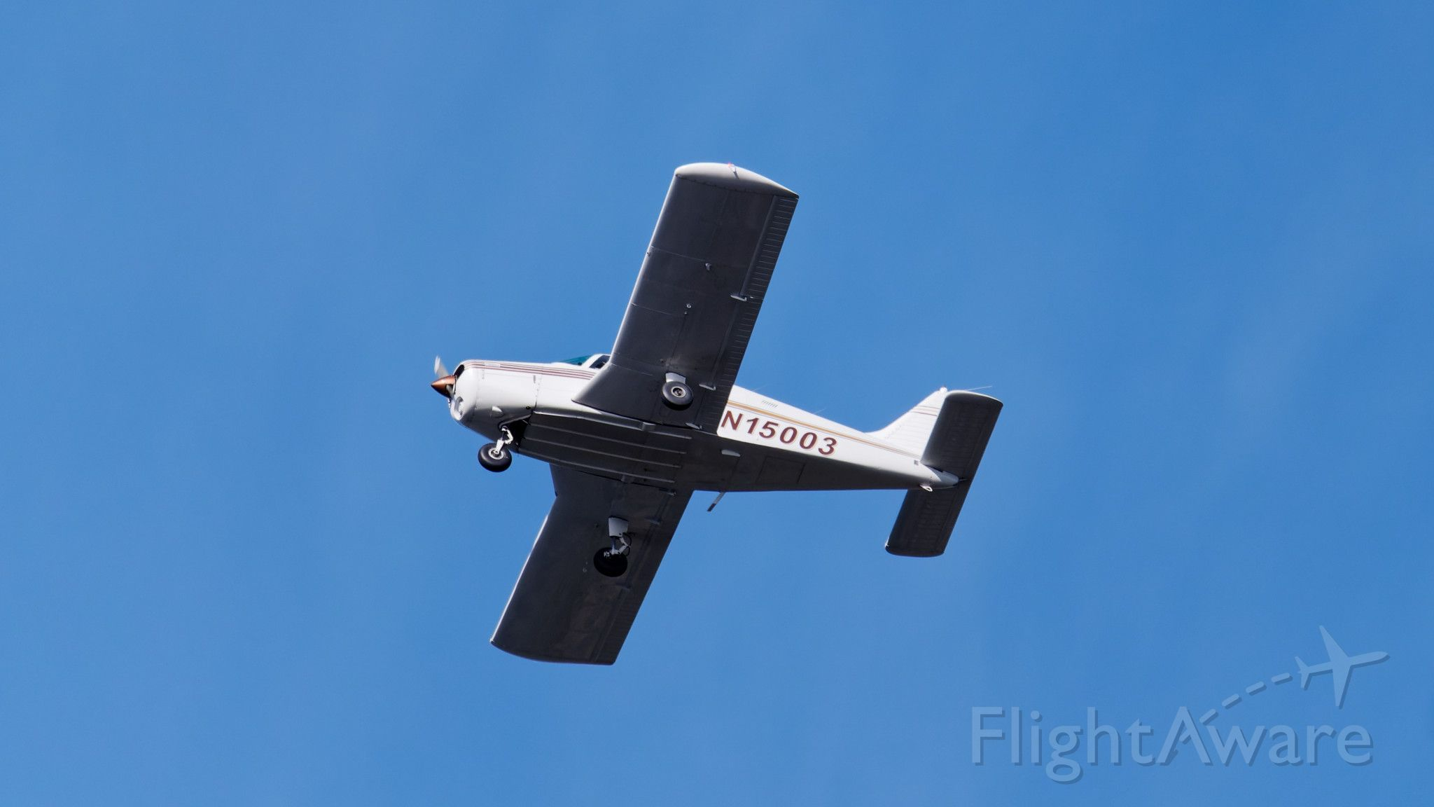 Piper Cherokee (N15003) - Overflying wildlife refuge after takeoff from Minute Man arifield