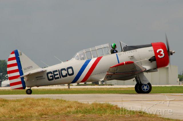 North American T-6 Texan (N52900) - 2013 Sun n Fun
