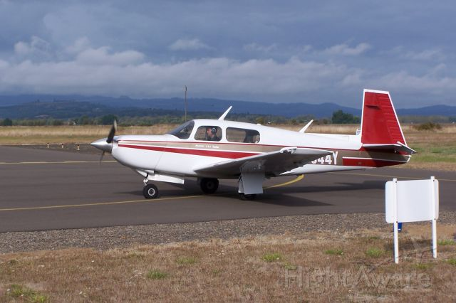 N944Y — - 1987 Mooney 252TSE.  service ceiling 28,000ft.  +200kt TAS.
