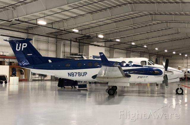 Beechcraft Super King Air 350 (N879UP) - Awaiting the next trip out of EKM. 11/18/19.