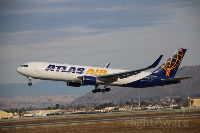 BOEING 767-300 (N645GT) - Departing March Air Reserve Base- Riverside ...Ca....