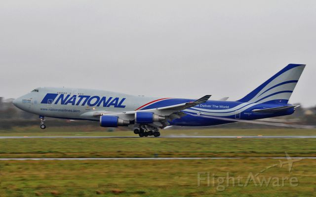 Boeing 747-400 (N952CA) - national b747-4f n952ca landing at shannon 23/11/15.