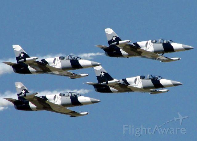 Aero L-39 Albatros (N135EM) - At Barksdale Air Force Base.