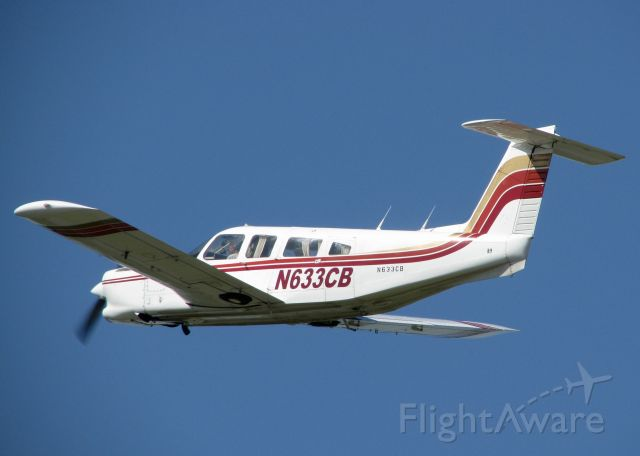 Piper Saratoga/Lance (N633CB) - At Downtown Shreveport.
