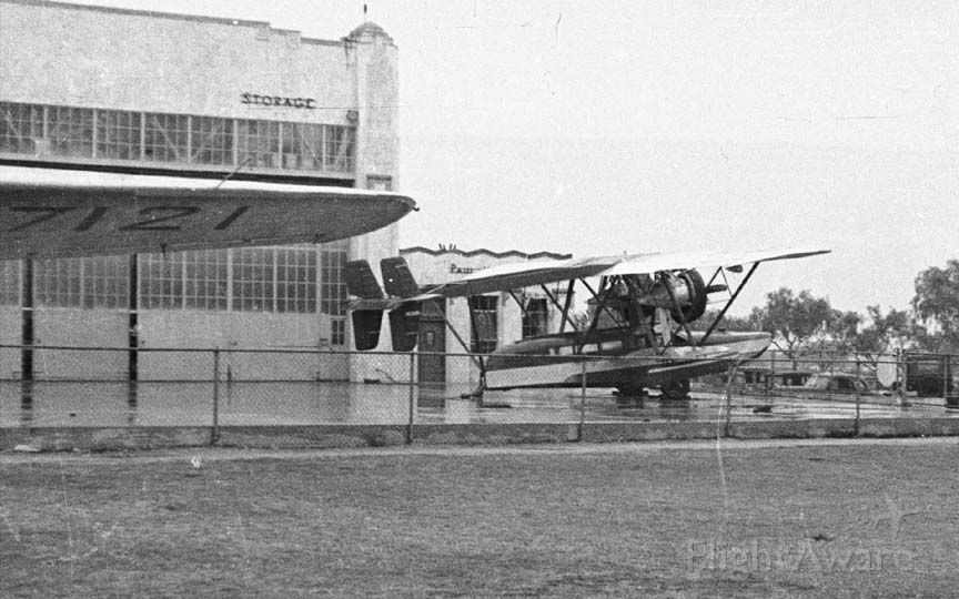Sikorsky S-38 Replica — - Float Plane at Burbank Airport in late 30s.  Any help in identifying would be greatly appreciated.