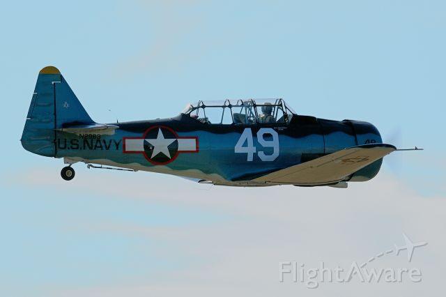 N2983 — - 1942 North American T-6G Texan C/N 88-17125 N2983 @ EAA Fly-In @ Arlington WA on July 12, 2008