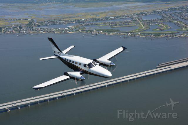 Cessna Conquest 2 (N500ER) - Over Slidell ,LA.