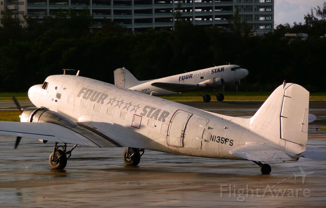 Douglas DC-3 (N135FS) - Four Star Aviation. One of the most noble airplanes ever.