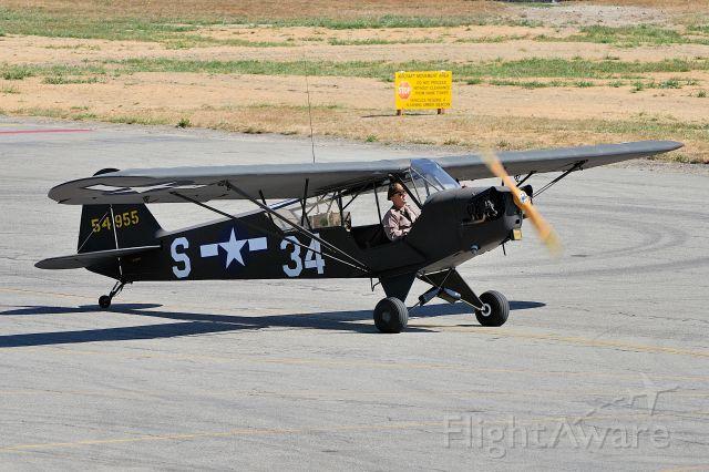 N68935 — - 1944 Piper J3C-65 Cub C/N 13695 N68935 @ Vintage Aircraft Weekend, Paine Field Airport on September 2, 2012